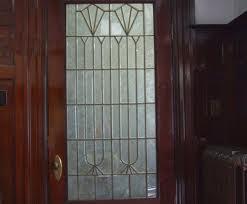 Leaded Glass Door 3