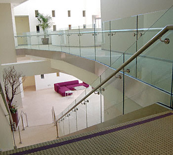 For Bids, Information, Consultation Or Design Of Glass Railing Systems And  Glass Walls And Partitions Or Any Commercial Project Please Call Reed  Johnson At ...